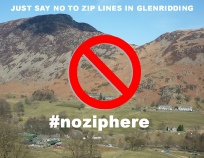 #noziphere - fight the proposed Glenridding Zip Wires